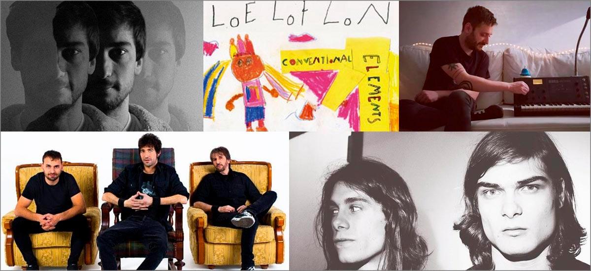 Loe Lof Lon, Reuben RG, inane, Luma, Rock Kills