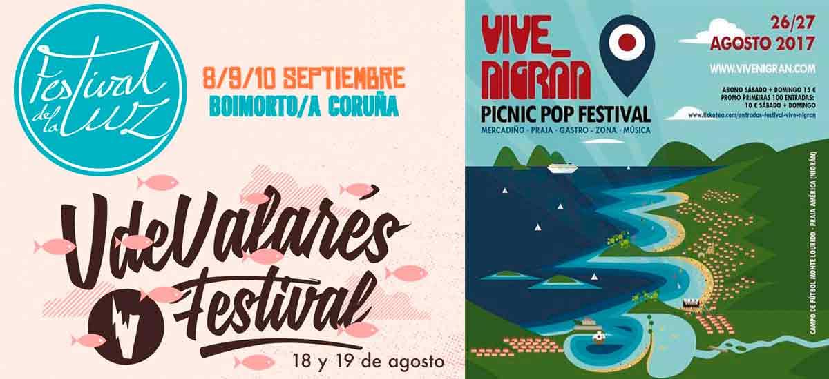 Festivales gallegos
