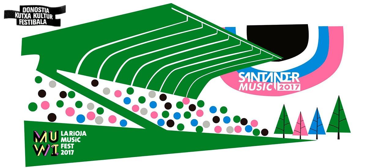 Santander Music, Muwi, Donostia Festibala